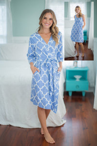 Marin Delivery Robe & Maternity Nursing Nightgown