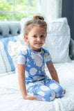 Zoe Floral Girls Pajama  Set