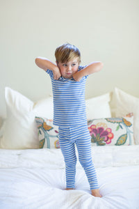 Zoe Stripe Kids Lounge Set