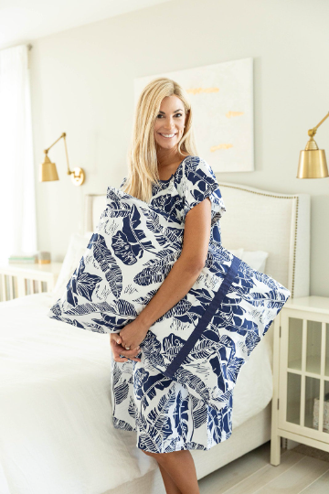 Serra Patient Gown & Pillowcase Set