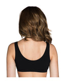 Maternity & Nursing Sleep Bra Black Small