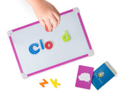 Play Brainy™ Magnetic Alphabet Set with 30 Fun and Educational Picture Spelling Cards