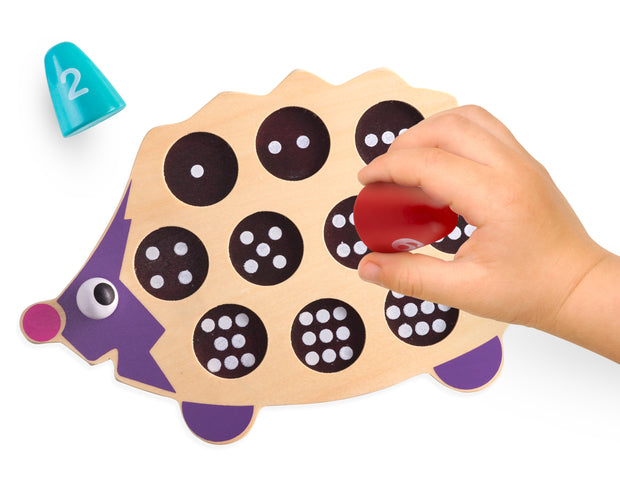 PLAY BRAINY™ Fun, Kid-Friendly and Math Educational- 3D Baby Animal Hedgehog Puzzle