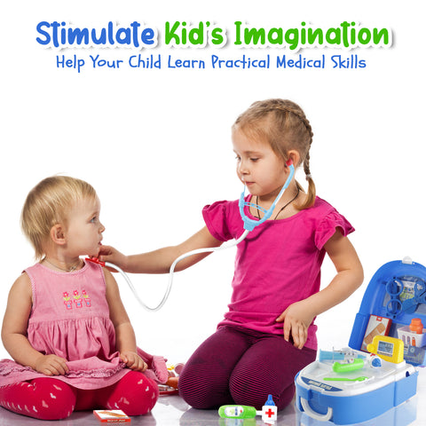 Play Brainy Kids Doctor Playset | Medical Nurse Kit