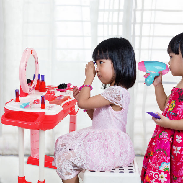 Play Brainy Mini Makeup Vanity for Little Girls