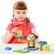 Play Brainy™ Balancing Monkey Math Game – Fun & Educational Monkey Scale Math Toy