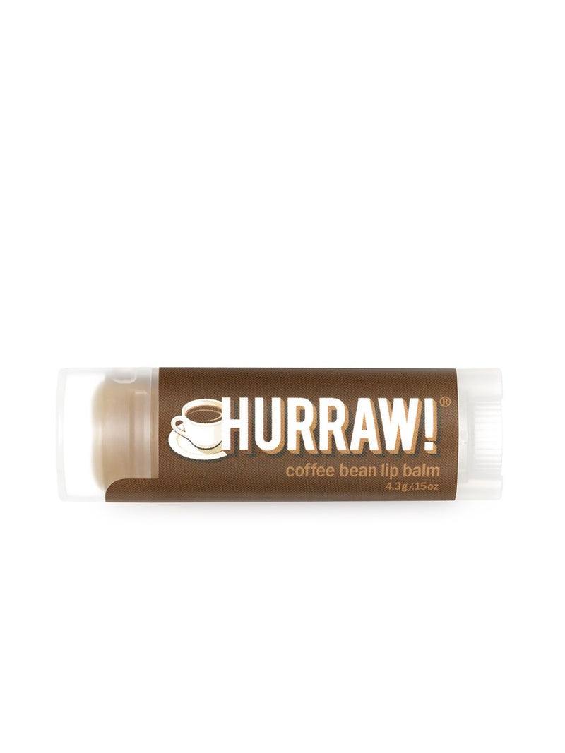 Hurraw Coffee Bean Lip Balm | Vegan Scene