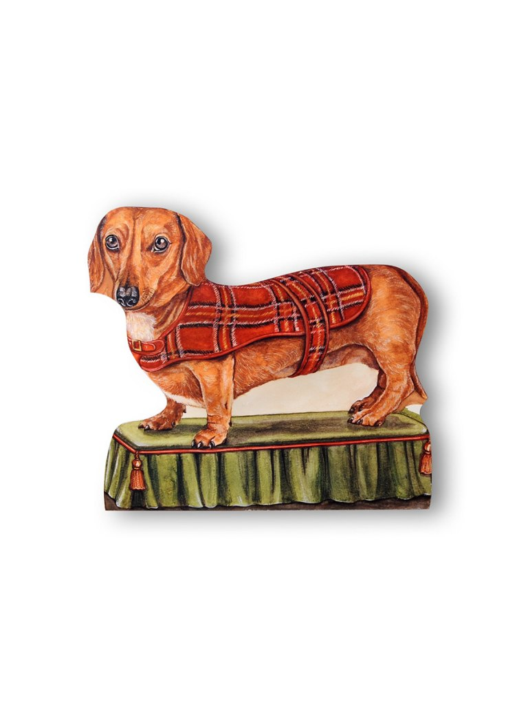 Stupell Home Stupell Home Dachshund Decorative Dog Doorstop | Vegan Scene