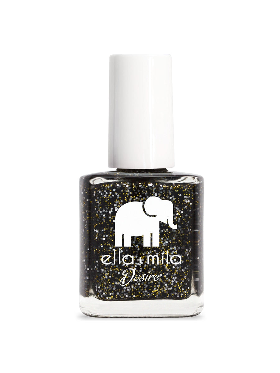 Ella+Mila Black Tie Affair Nail Polish | Vegan Scene