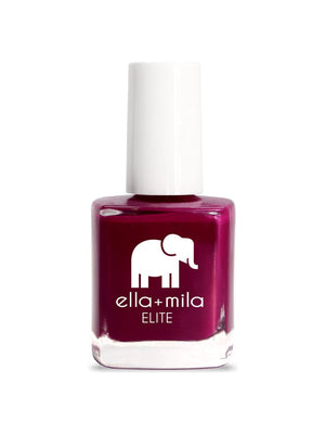 Ella+Mila In Line For Wine Nail Polish | Vegan Scene