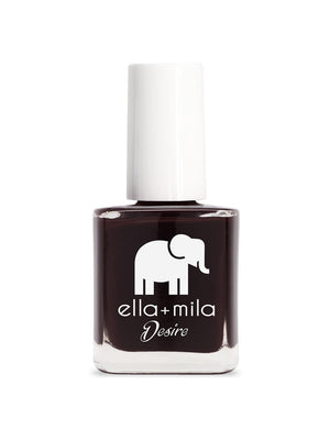 Ella+Mila Wine Me Up Nail Polish | Vegan Scene