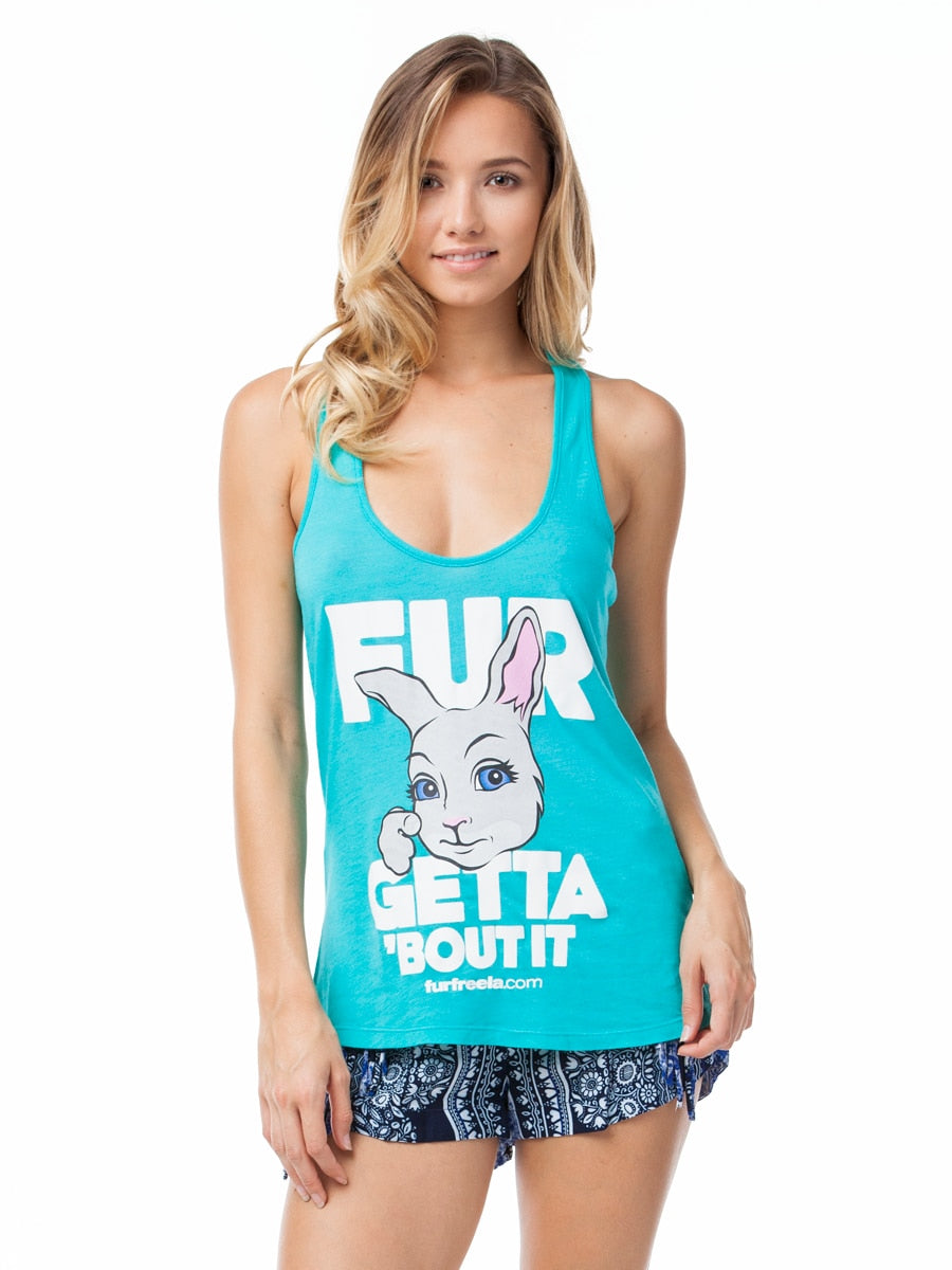 Vegan Scene Fur Getta 'Bout It Tank | Vegan Scene