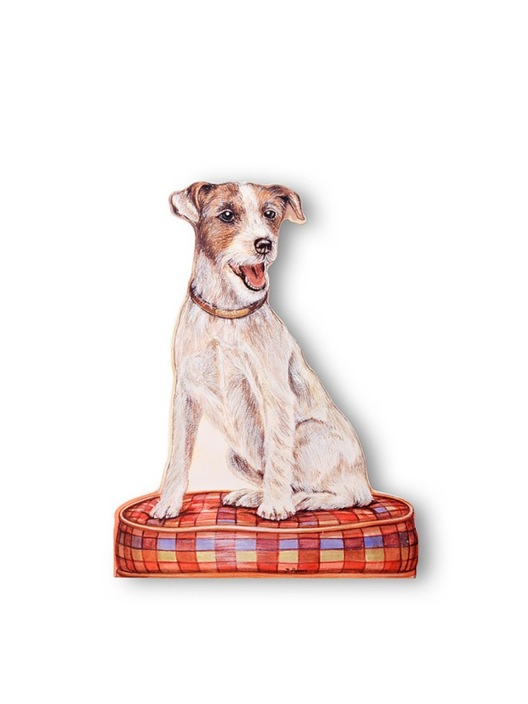 Stupell Home Stupell Home Jack Russell Terrier Decorative Dog Doorstop | Vegan Scene