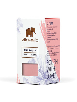 Ella+Mila Luminous Nail Polish | Vegan Scene