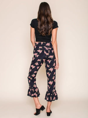 Legends & Vibes Palms Ruffle Pant | Vegan Scene