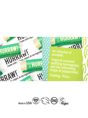 Hurraw Pitta Lip Balm | Vegan Scene
