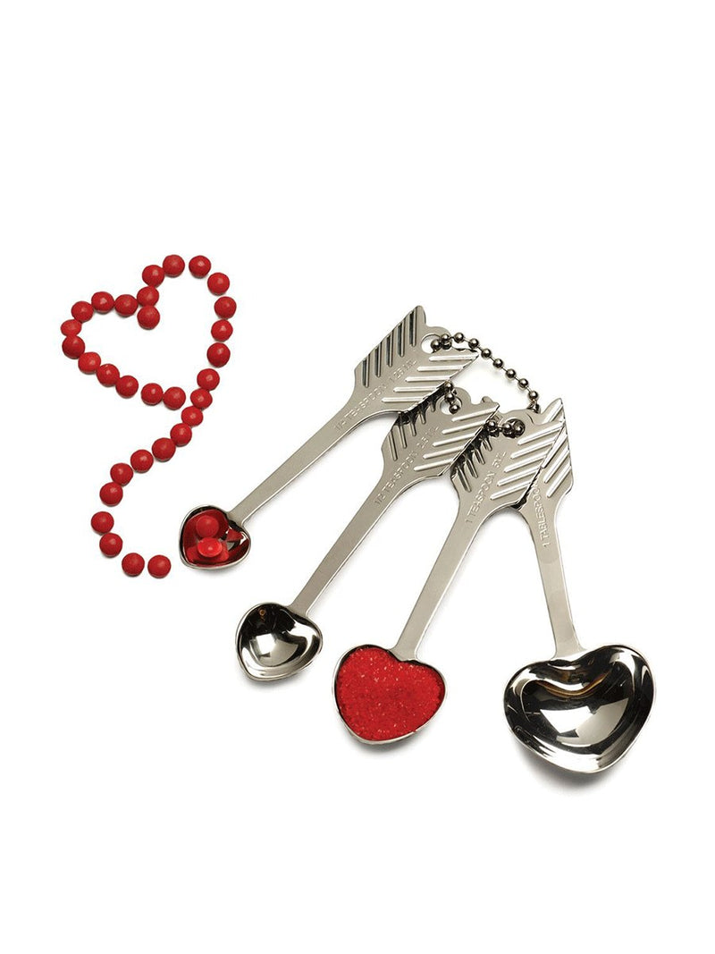 RSVP International Heart Measuring Spoons | Vegan Scene