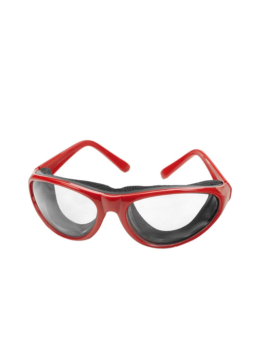 RSVP International Onion Goggles Red | Vegan Scene