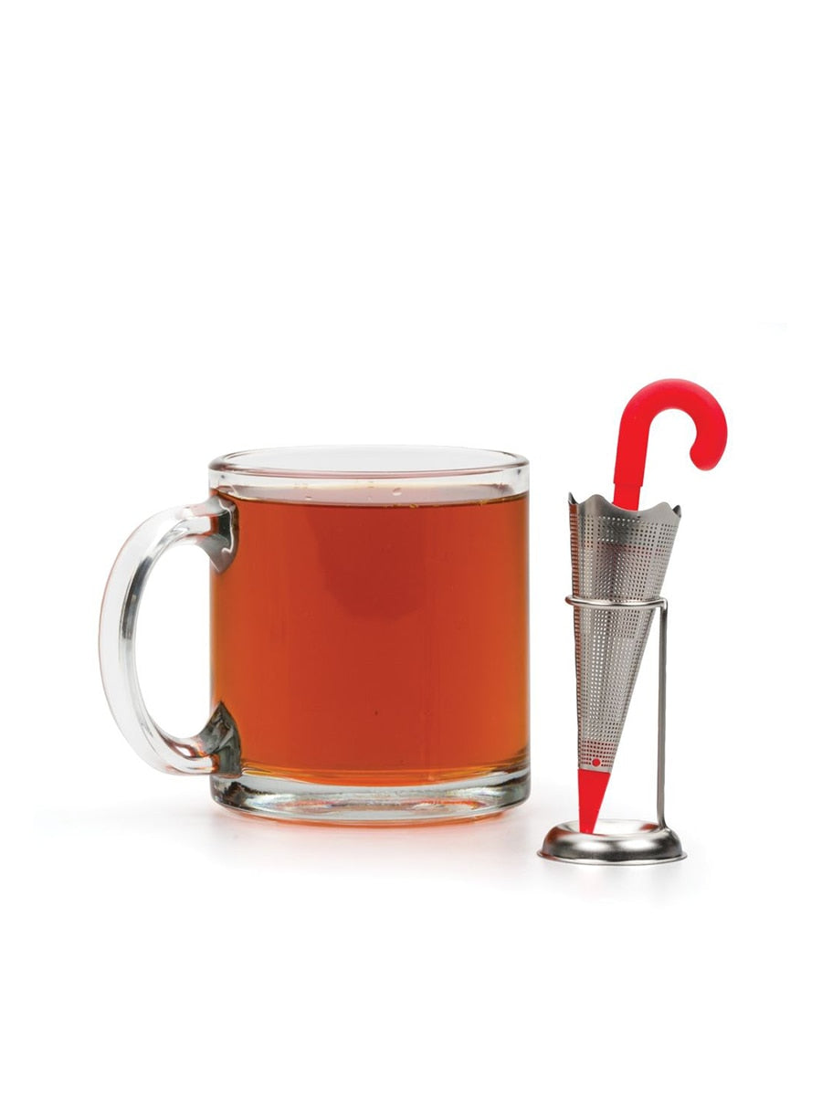 RSVP International Umbrella Stand Tea Infuser | Vegan Scene