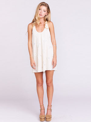 Show Me Your Mumu Kaylee Criss Cross Dress Creme De La Tapestry Natural | Vegan Scene