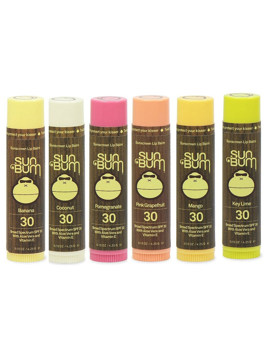Sun Bum Pomegranate SPF 30 Lip Balm | Vegan Scene