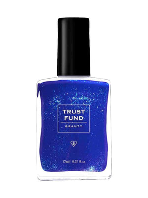 Trust Fund Beauty Denim with Diamonds Nail Polish | Vegan Scene