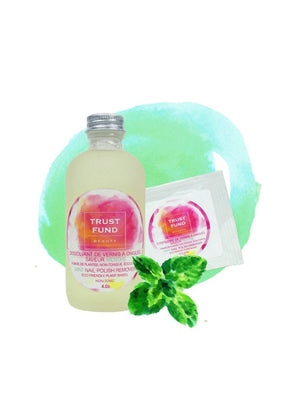 Trust Fund Beauty Mint Nail Polish Remover | Vegan Scene
