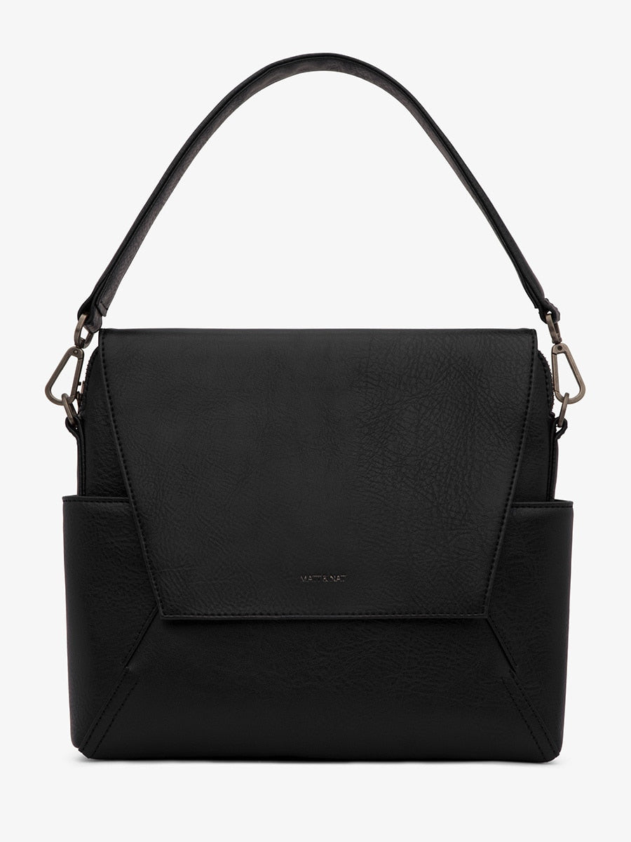 Matt & Nat Minka Handbag Black | Vegan Scene