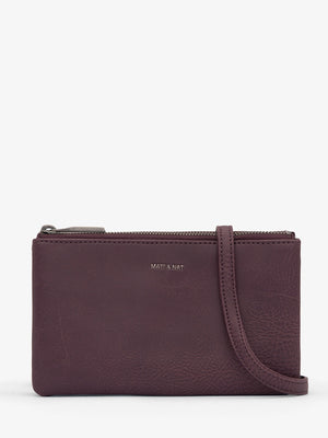 Matt & Nat Triplet Crossbody Fig | Vegan Scene