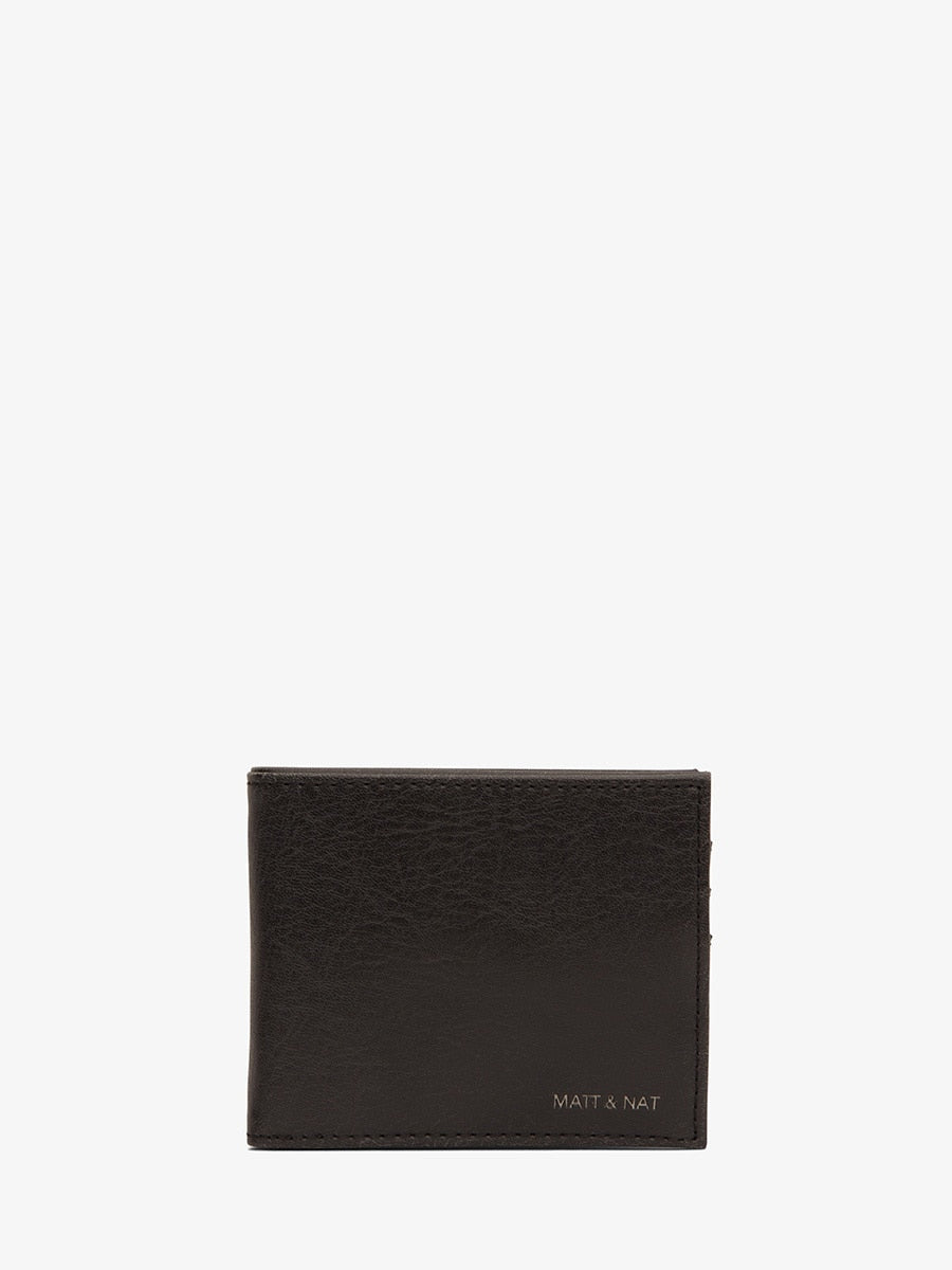 Matt & Nat Rubben Wallet Black | Vegan Scene