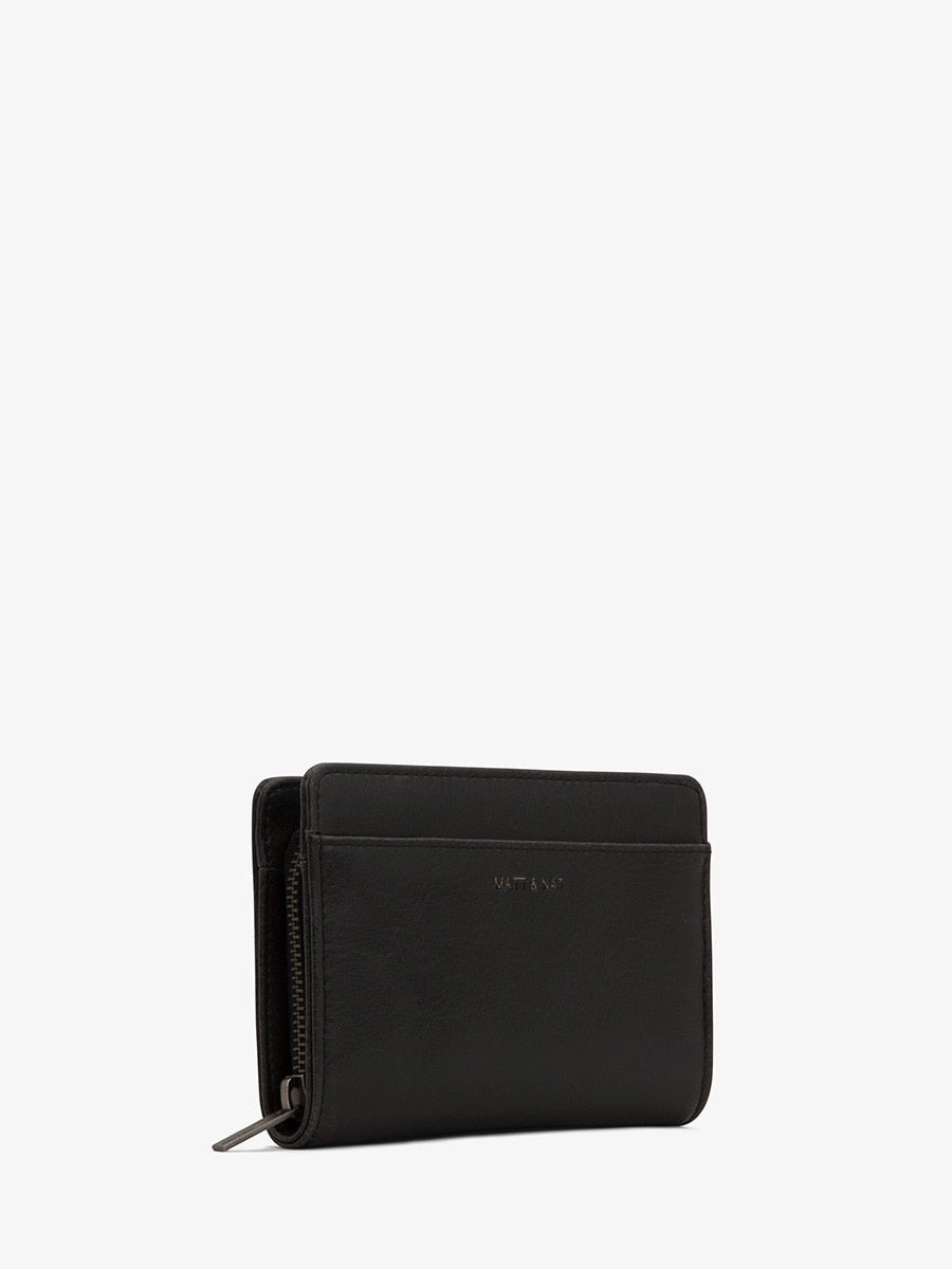 Matt & Nat Webber SM  Wallet | Black | Vegan Scene