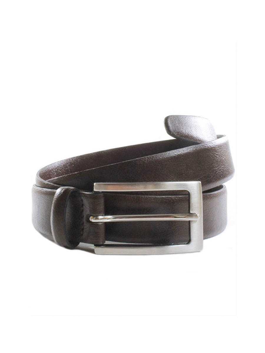 Wills London 3cm Belt | Dark Brown | Shop Vegan Leather Belts at Vegan Scene