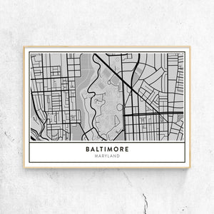 Jhh Campus Map.Golden Gate Design Co Custom Map Art Prints Of Your Favorite City