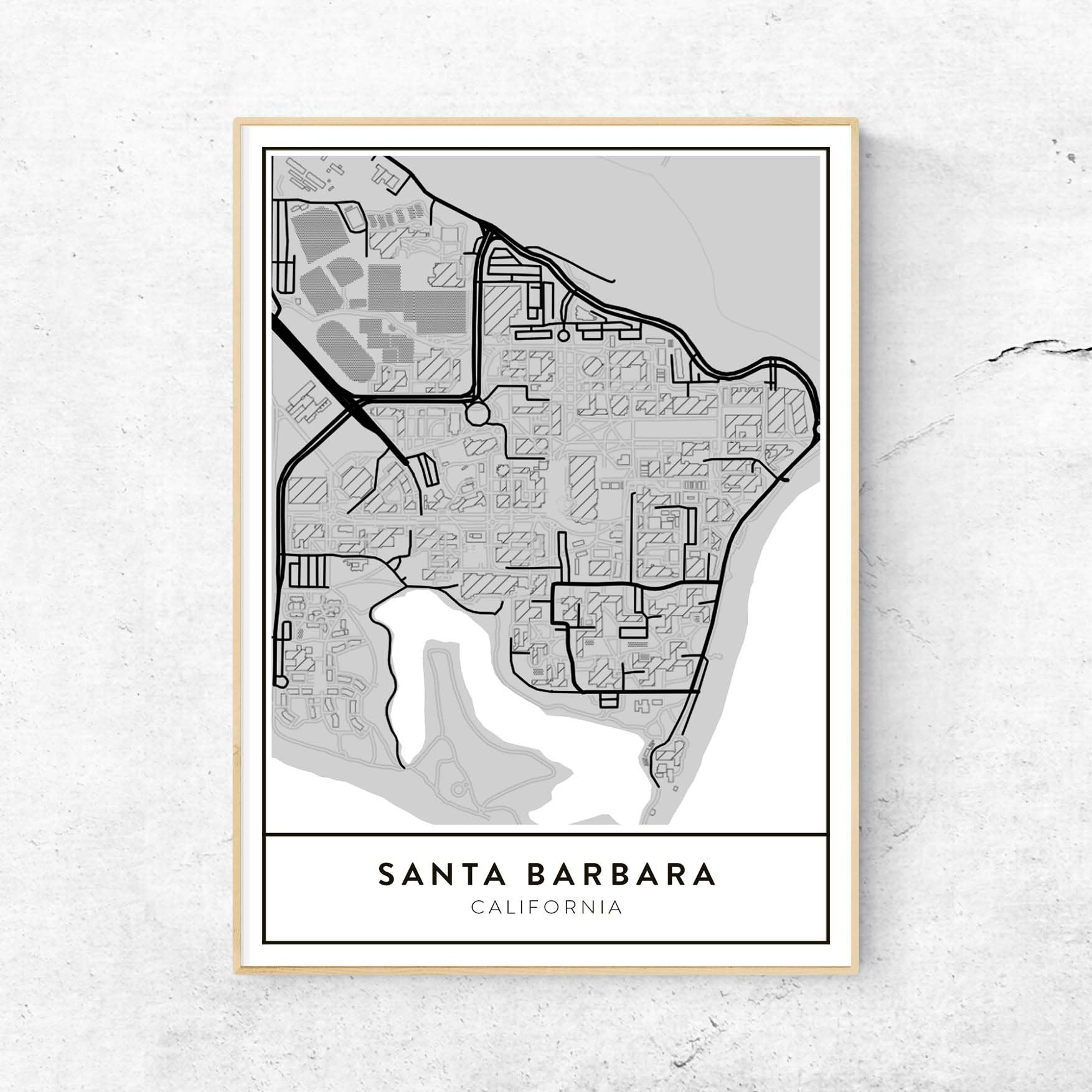 Golden Gate Design Co Custom Map Art Prints Of Your Favorite City