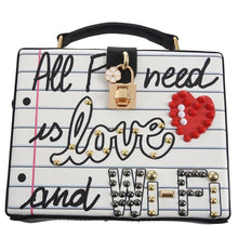 Load image into Gallery viewer, Graffiti Crossbody Bag