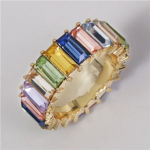 Reiki Crystal Ring