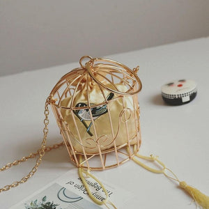 Birdcage Evening Bag