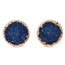 Load image into Gallery viewer, Druzy Stone Stud Earrings