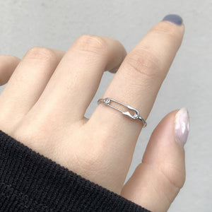 Clip Shape Adjustable Ring