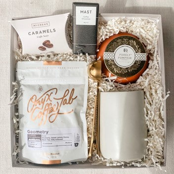 Fall Coffee Box - crate + willow