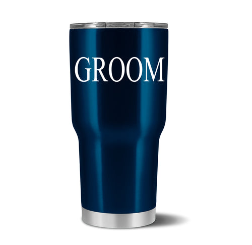 Groom Tumbler - crate + willow