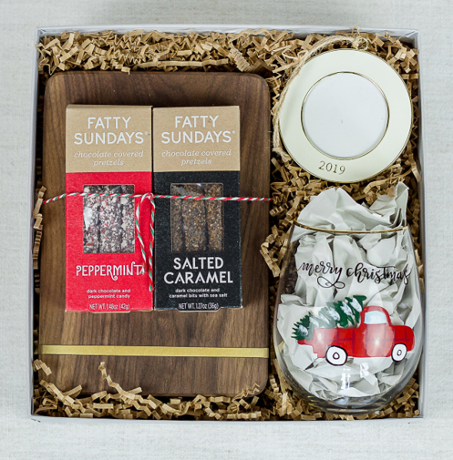 Holiday Charcuterie Box - crate + willow