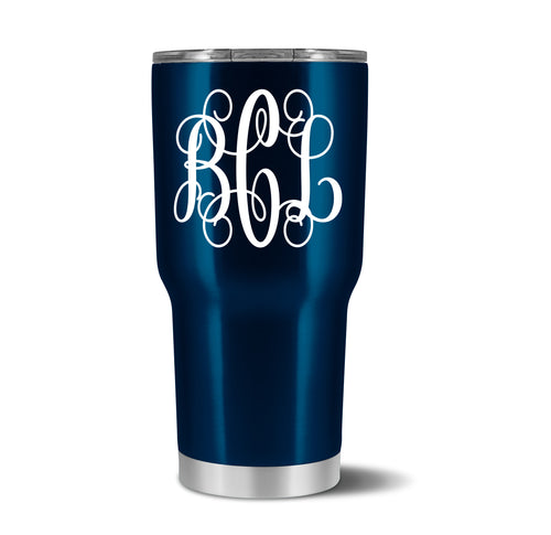 Custom Monogram Tumbler - crate + willow