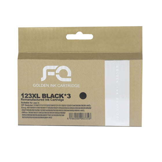 حبر INK FQ 123XL BLACK ECO SAVER