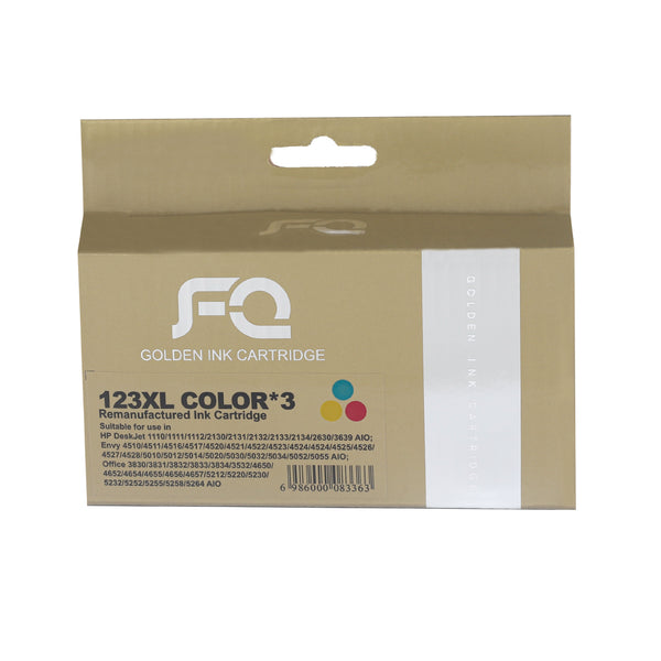 حبر INK FQ 123XL COLOUR ECO SAVER