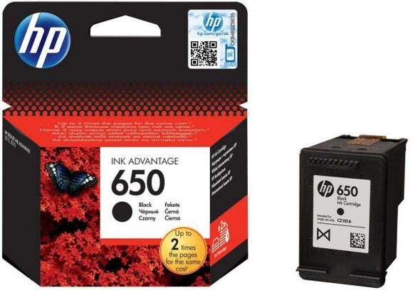 INK HP OR CZ101AE 650 BLACK
