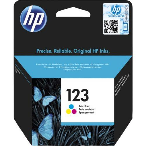 INK HP OR F6V16AE 123 COLOR