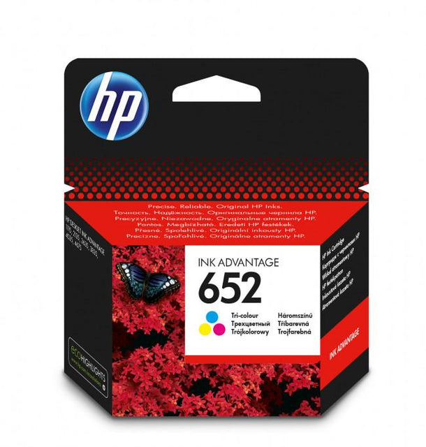 حبر INK HP OR F6V24AE 652 COLOR