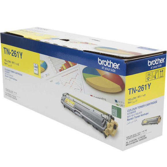 TONER BROTHER OR 3150 9330 TN261 YELLOW