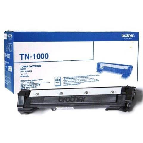 TONER BROTHER OR TN1000 BLACK